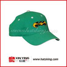 Green 6 panels voorzien van baseball caps