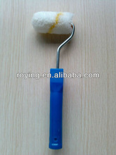 Paint tools paint roller with plastic handle
