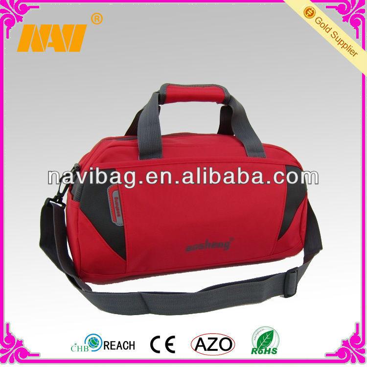 Promotional nylon travel duffel bag (NV-TB054)