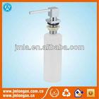 450ml Plastic Bottle Liquid Soap Dispenser With Copper Pump