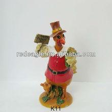K11 Happy Turkey Day Thanksgiving decorative figurines