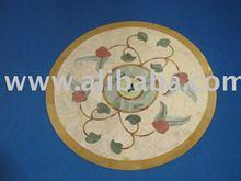 Marble Inlay Medallion