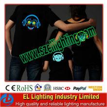 Current design fashional design el t shirt