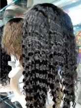 Women fashion synthetic wig 100% brazilian hair made