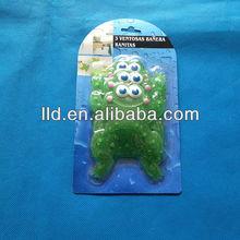 504028 3PCS FROG SHAPE MULTI-PURPOSE ANTI-SLIP PVC MINI CHILDREN BATH MAT