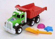 Dump-truck & tools toys