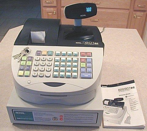 Royal 601sc Cash Register