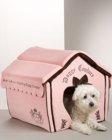 Velour dog house