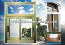 Aluminium alloy sliding windows in China ,Waterproof,soundproof,heat insulation,durable