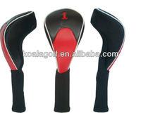 Hot sale golf driver head cover,PU design for sale