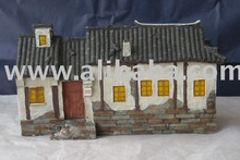 Polyresin Chinese house