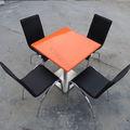 Diverses couleurs de petites tables basse carrée/les tables de restaurant