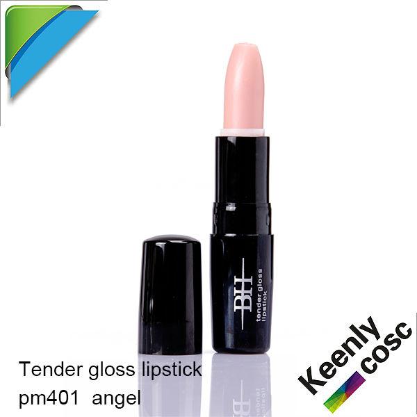 Tender gloss lipstick PM401 angel ;professional makeup lipstick ;OEM and wholesale