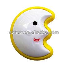 CE/ROHS crescent moon LED push light/ night light /touch light