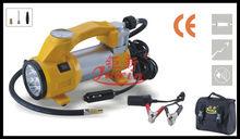 12V mini Car air compressor Tire inflating pump