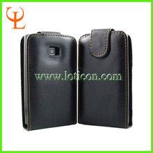 PU Leather Flip Case For LG Optimus L3 E400 PU Leather Case