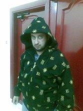 Hooded jacket, latin King design