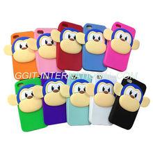 Cartoon Monkey Pattern Case For Samsung I9190 Galaxy S4 Mini Cartoon Case