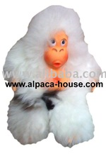 Baby Alpaca toy monkey
