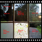 one way vision silver mirror window film