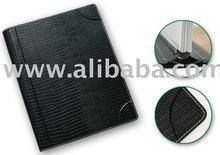 Leather Spiral Agenda Notebook