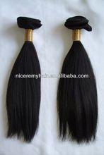 100% human hair extensions top quality eurasian hair weft