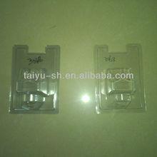 PVC transparent emballage blister couvercle pour ampoules