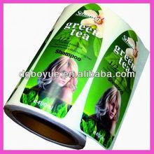 High quality custom personalized label,adhesive logo stickers,shampoo bottle label design