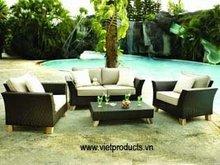 Synthetic Rattan Sofa Set