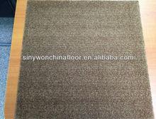 Cheap Light Brown Color 100% Nylon Brown Carpet Tiles For House