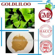 GMP & HACCP Natural ginkgo biloba extract dried ginkgo biloba leaves extract ginkgo biloba softgel capsule powder