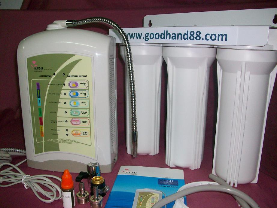 mtn alkaline water purifier ionizer filter machine