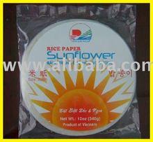 Banh trang xuat khau, Rice paper