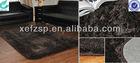 sound absorber microfiber polyester carpet living room design