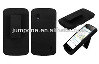 cover For LG Google Nexus 4 E960 Holster Combo Belt Clip Hard Case Accessor