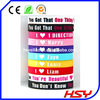 2013 newest 1D one direction silicone wristbands for party supplies