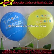 custom logo print balloons multi color printed ballon