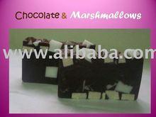 chocolate marshmallow glycerine soap