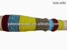 Fashion tribal knitted stocking/Leg Warmer