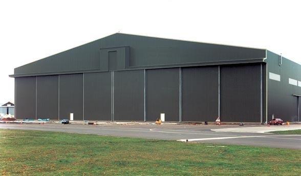 Porte de hangar for Porte hangar