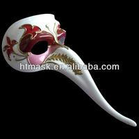 Zanni Venice Carnival Supplies PVC Mask
