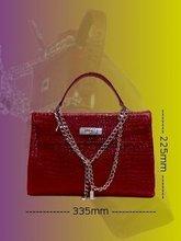 Her handbags/