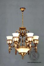 2013 new design 28080-6+3 antichi lampshades