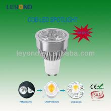 Antiglare COB Gu10 MR16 5w 7w 9w led ceiling spot light dimmable led spotlight
