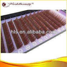VEAY hot ! Individual Eyelash wholesale false eyelashes colorful mink eyelash extensions