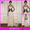 DE121 Zuhair Murad Single Sheer Strap Chiffon Evening Dress Fashion 2013