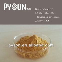 Brown fine powder Natural Herb Black Cohosh P.E.