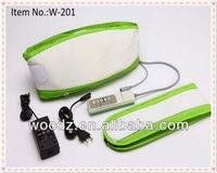 Smart Electronic Pulse Slimming Massager Belt/Vibration Belly Fat Burning Massage Belt Machine Wholesale Manufacturer