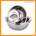 22 cm S / S201 # herramienta de la cocina de acero inoxidable grande cuenca / bol / cuenca / utensilios de cocina / utensilios de cocina