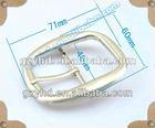 fashion zinc alloy marine belt buckle for bag